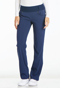 Mid Rise Straight Leg Pull-on Pant (CK002P-NAV)