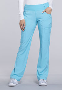 Mid Rise Straight Leg Pull-on Pant (CK002P-TRQ)