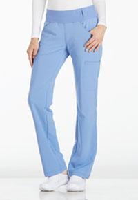 Cherokee Mid Rise Straight Leg Pull-on Pant Ciel Blue (CK002-CIE)