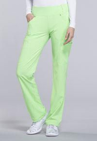 7f78039965d Cherokee Mid Rise Straight Leg Pull-on Pant Green Zen CK002-GRZN