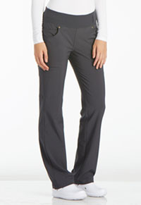Mid Rise Straight Leg Pull-on Pant (CK002-PWT)