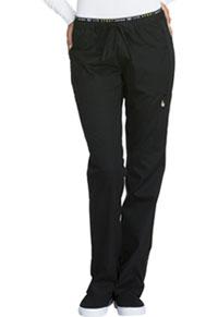 Mid Rise Straight Leg Pull-on Pant (CK003P-BLKV)