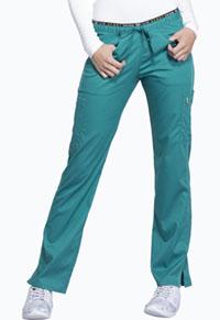 Mid Rise Straight Leg Pull-on Pant (CK003P-TEAV)