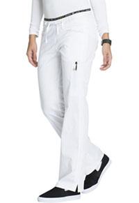 Mid Rise Straight Leg Pull-on Pant (CK003P-WHTV)