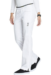 Mid Rise Straight Leg Pull-on Pant (CK003T-WHTV)