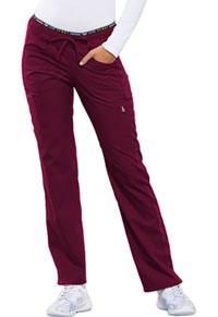 38a0984ab86 Cherokee Mid Rise Straight Leg Pull-on Pant Wine (CK003-WINV)