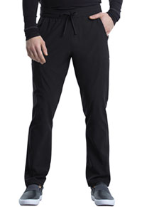 Cherokee Men's Tapered Leg Drawstring Cargo Pant Black (CK006-BLK)