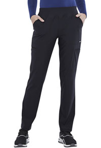 Cherokee Mid Rise Slim Straight Pull-on Pant Black (CK007-BLK)