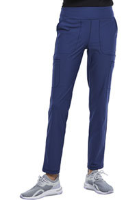 Cherokee Mid Rise Slim Straight Pull-on Pant Navy (CK007-NAV)