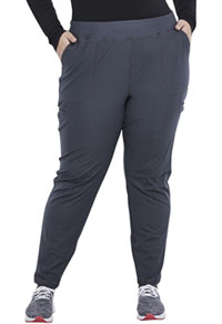 Cherokee Mid Rise Slim Straight Pull-on Pant Pewter (CK007-PWT)