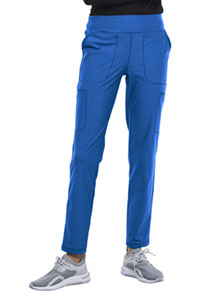 Cherokee Form Mid Rise Slim Straight Pull-on Pant (CK007-ROY) (CK007-ROY)
