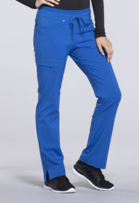 Mid Rise Tapered Leg Drawstring Pants (CK010P-ROY)
