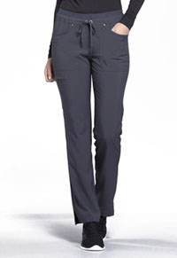 Mid Rise Tapered Leg Drawstring Pants (CK010-PWT)