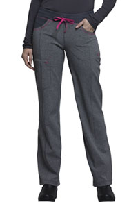 Low Rise Straight Leg Drawstring Pant Heather Grey (CK030A-HTGR)
