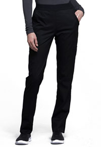 Natural-Rise Tapered Leg Pant (CK040T-BLKV)
