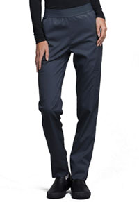 Cherokee Natural-Rise Tapered Leg Pant Pewter (CK040-PEWV)