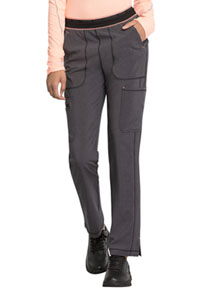 Cherokee Mid Rise Tapered Leg Pull-on Pant Heather Charcoal (CK050A-HTCH)