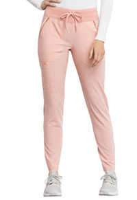 Cherokee Mid Rise Straight Leg Drawstring Pants Peaches and Cream (CK055-PACR)