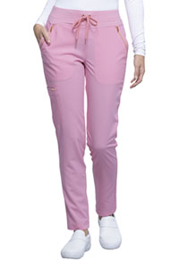Cherokee Mid Rise Tapered Leg Drawstring Pant Rose Blossom (CK055-RBSM)