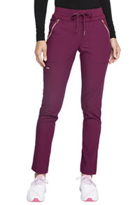 Statement Mid Rise Straight Leg Drawstring Pants (CK055-WIN) (CK055-WIN)