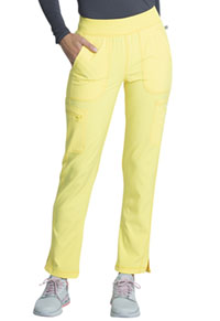 Cherokee Mid Rise Tapered Leg Pull-on Pant Lemon Sugar (CK065A-LNSU)