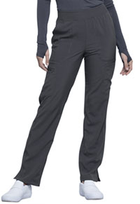 Cherokee Mid Rise Tapered Leg Pull-on Pant Pewter (CK065A-PWPS)