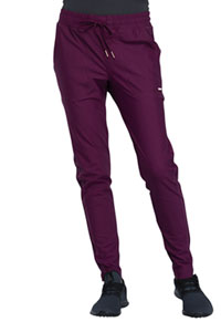 Cherokee Mid-Rise Tapered Leg Drawstring Pant Wine (CK090-WIN)