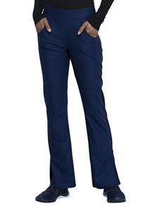 Cherokee Mid Rise Moderate Flare Leg Pull-on Pant Navy (CK091-NAV)