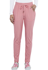 Cherokee Mid Rise Tapered Leg Drawstring Pant Tea Rose (CK095-TEAS)