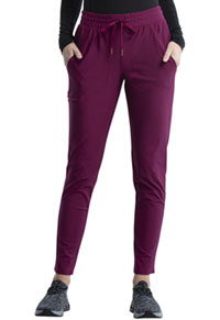 Cherokee Form Mid Rise Tapered Leg Drawstring Pant (CK095-WIN) (CK095-WIN)