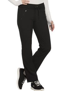 Mid Rise Tapered Leg Drawstring Pants (CK100AP-BAPS)