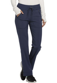 Mid Rise Tapered Leg Drawstring Pants (CK100AP-NYPS)