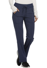 Mid Rise Tapered Leg Drawstring Pants (CK100A-NYPS)