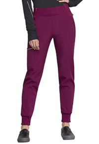Cherokee Mid Rise Tapered Leg Jogger Pant Wine (CK110A-WNPS)