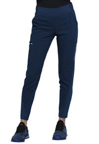 Statement Mid-Rise Tapered Leg Pull-on Pant (CK175-NAV) (CK175-NAV)