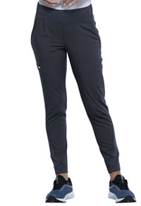 Cherokee Mid-Rise Tapered Leg Pull-on Pant Pewter (CK175-PWT)