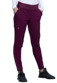 Statement Mid-Rise Tapered Leg Pull-on Pant (CK175-WIN) (CK175-WIN)