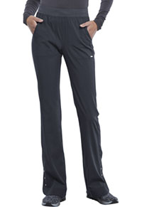 Cherokee Mid Rise Flare Leg Pull-on Pant Pewter (CK177-PWT)