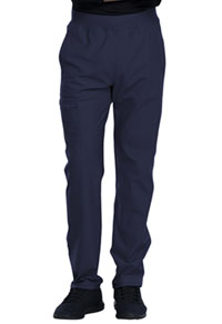 Cherokee Form Men's Tapered Leg Pull-on Pant (CK185-NAV) (CK185-NAV)