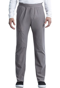 Cherokee Men's Tapered Leg Pull-on Pant Pebble (CK185-PBBL)