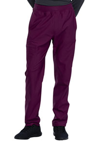 Cherokee Men's Tapered Leg Pull-on Pant Wine (CK185-WIN)