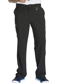 Cherokee Men's Fly Front Pant Black (CK200A-BAPS)