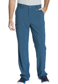 Cherokee Men's Fly Front Pant Caribbean Blue (CK200A-CAPS)