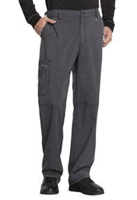 Cherokee Men's Fly Front Pant Heather Charcoal (CK200A-HTCH)