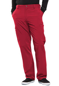 Cherokee Men's Fly Front Pant Red (CK200A-RED)