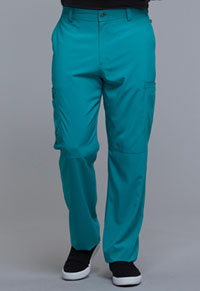 Cherokee Men's Fly Front Pant Teal Blue (CK200A-TLPS)