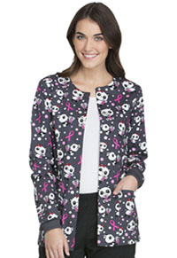 Cherokee Snap Front Warm-up Jacket Beary Caring (CK301-BBCA)