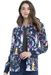Cherokee Snap Front Jacket Purr-fect Day (CK301-PUDY)