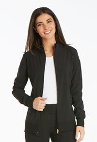 Cherokee Zip Front Warm-Up Jacket Black (CK303-BLK)