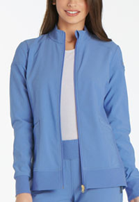 Cherokee Zip Front Warm-Up Jacket Ciel Blue (CK303-CIE)